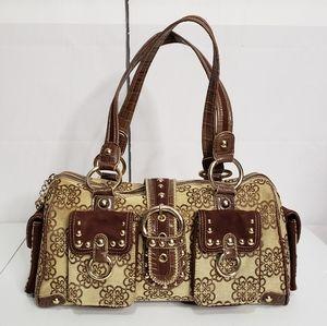 Kathy Van Zeeland Canvas Shoulder Bag